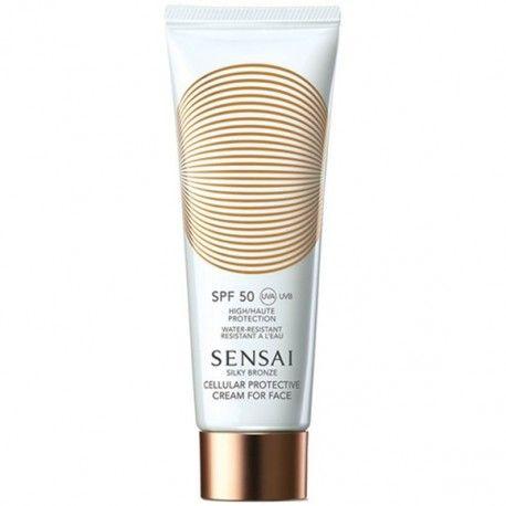 Silky Bronze Protective Cream For Face SPF50