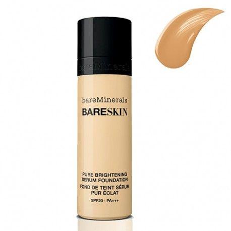 bareSkin Pure Brightening Serum Foundation - 12 Bare Sand