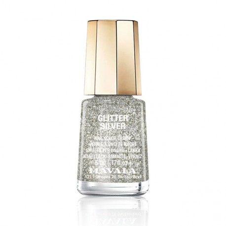 Minilack - Glitter Silver