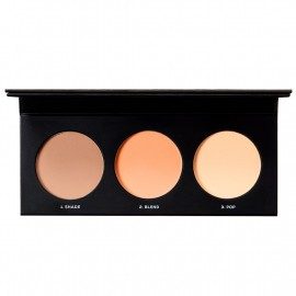 BarePRO Contour Face-shaping Powder Trio Fair To Medium