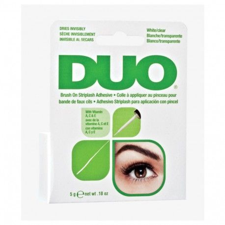 DUO Adhesive Brush On Clear