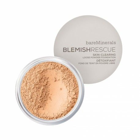 Blemish Rescue Skin-Clearing Loose Powder Foundation - Golden Nude 3,5NW