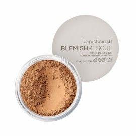 Blemish Rescue Skin-Clearing Loose Powder Foundation - Neutral Tan 4N Medium