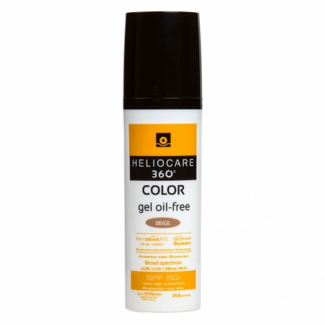 360 Color Gel Oil-Free SPF 50 - Beige