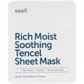 Rich Moist Soothing Tencel Sheet Mask